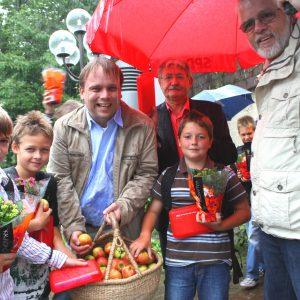 Trotz Regen herrschte gute Stimmung im vergangenen Jahr in Lohfelden