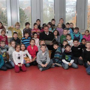 Kinder der Klassen 2 a und 2 b der Grundschule am Stadtpark