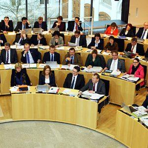 aktuelle Stunde im Plenum