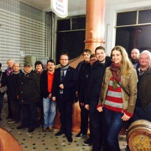 Besichtigung Hütt-Brauerei