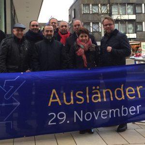 Info-Stand zur Ausländerbeiratswahl in Baunatal